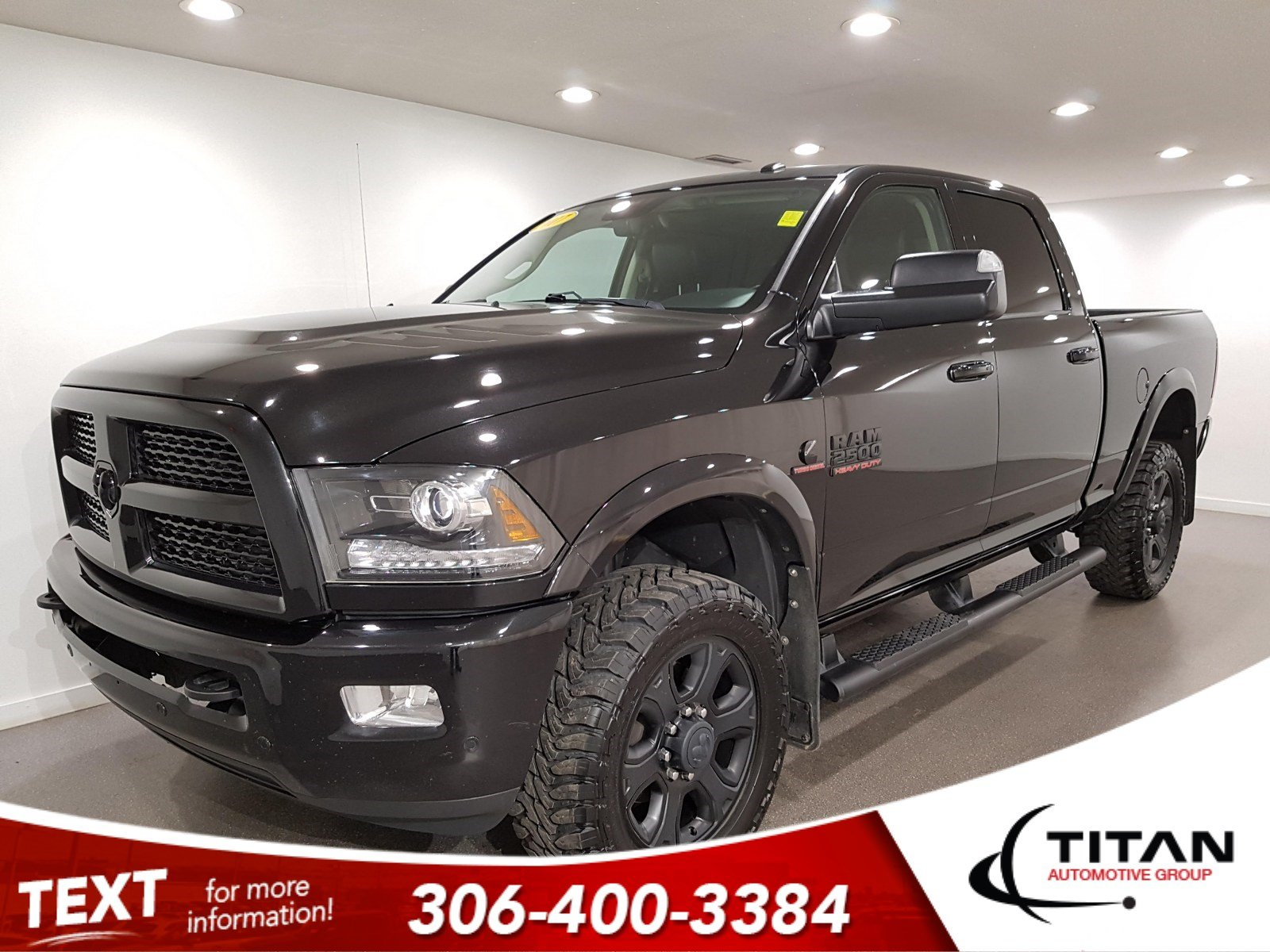 Pre-Owned 2017 Ram 2500 Laramie Crew Cab | Sunroof | Navigation | Remote Start