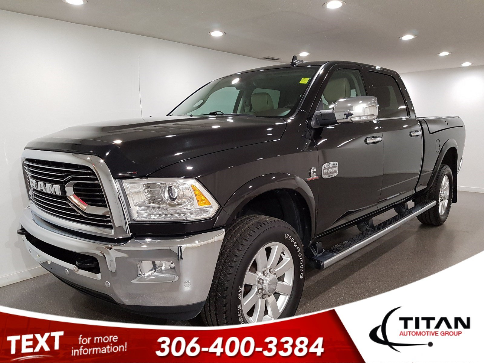 Pre-Owned 2018 Ram 2500 Longhorn Special Edition Crew Cab | Sunroof | Navigation | RamBox