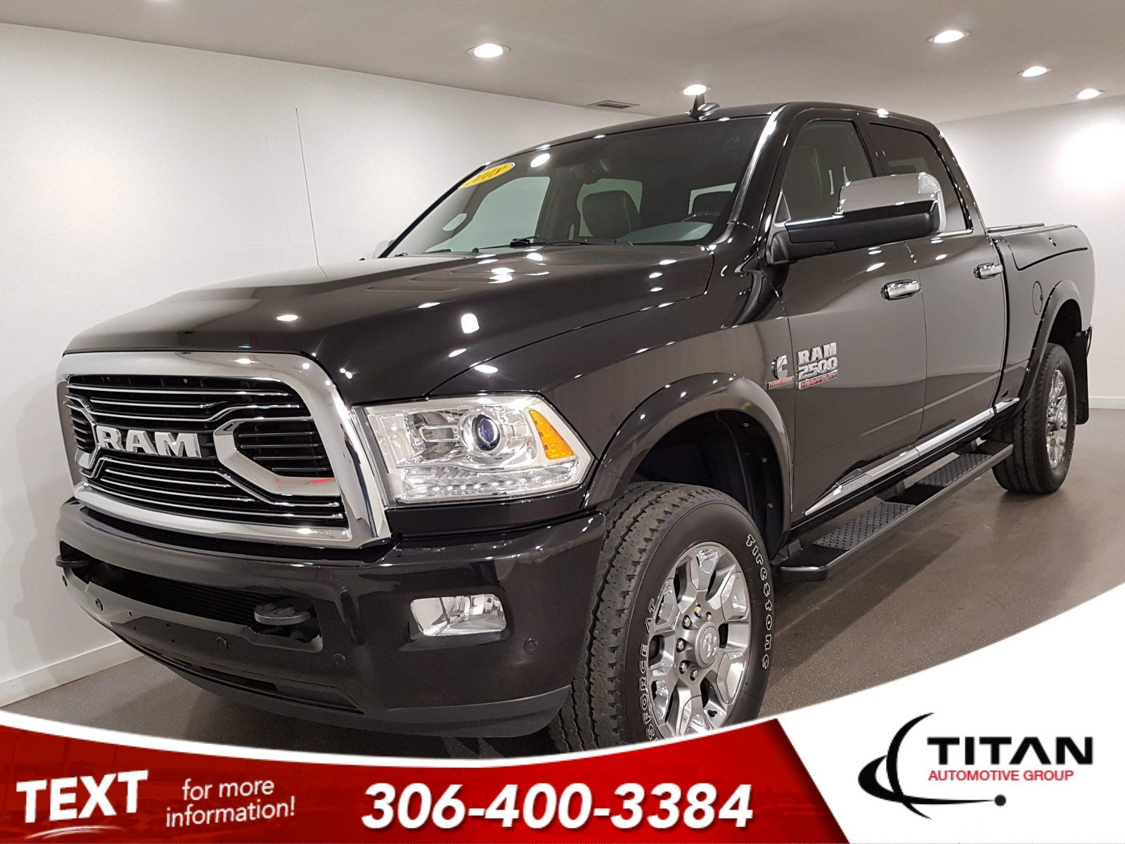 Pre-Owned 2018 Ram 2500 Limited Crew Cab | Sunroof | Navigation | Remote Start