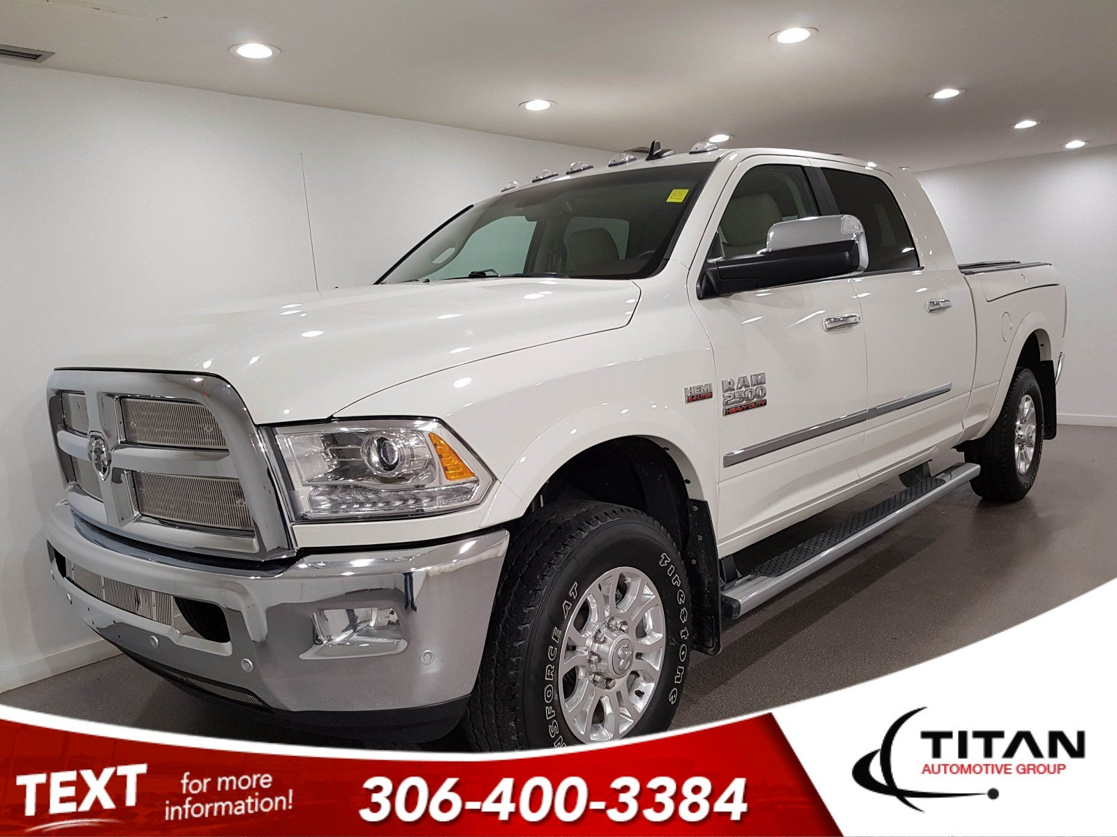 Pre-Owned 2018 Ram 2500 Laramie|4x4|V8|CAM|Leather|NAV