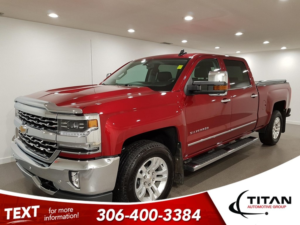Pre-Owned 2018 Chevrolet Silverado 1500 LTZ V8 4x4 CAM NAV Leather Sunroof