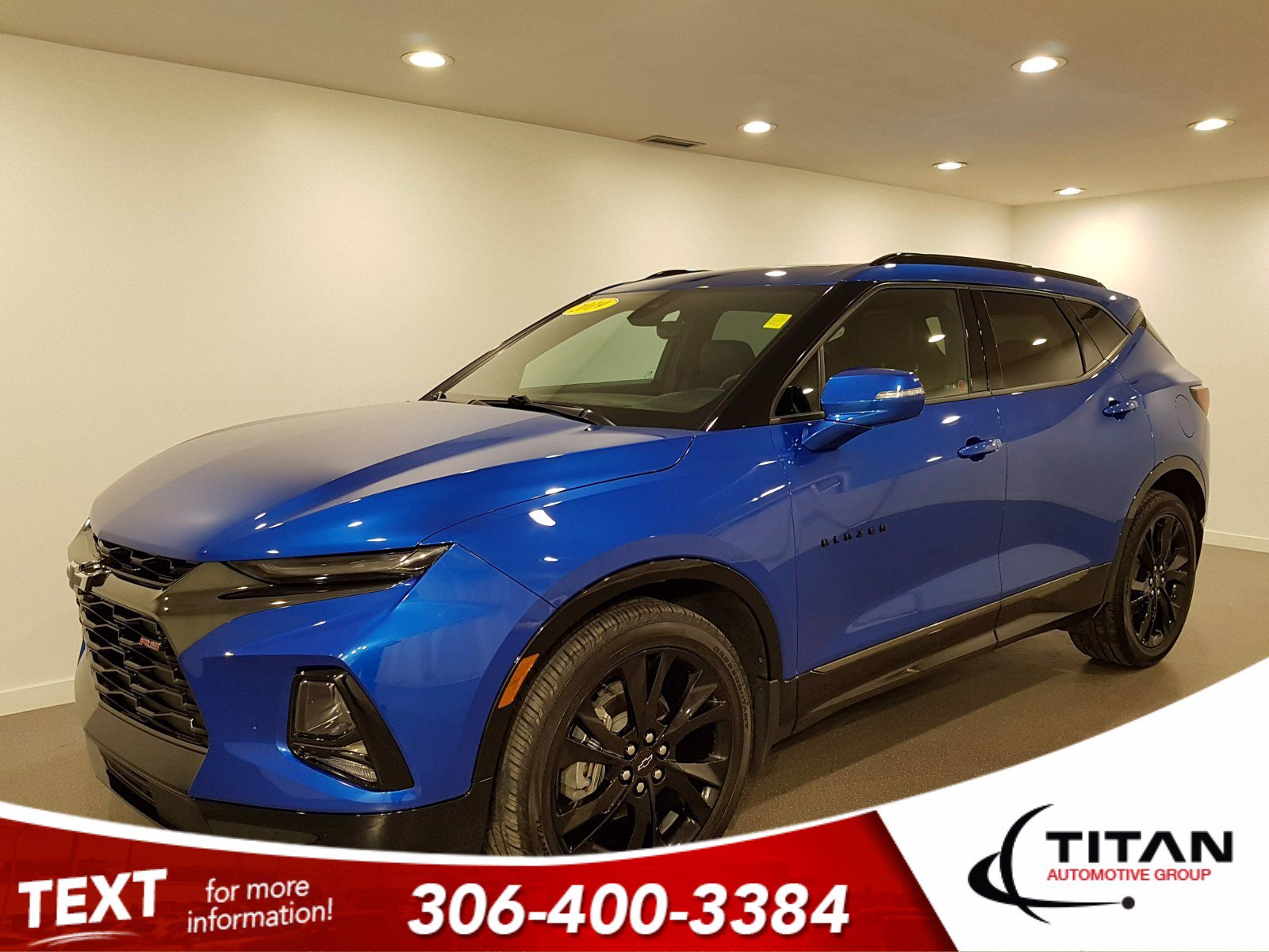 Pre-Owned 2019 Chevrolet Blazer RS | AWD | 9speed | V6 | CAM | NAV
