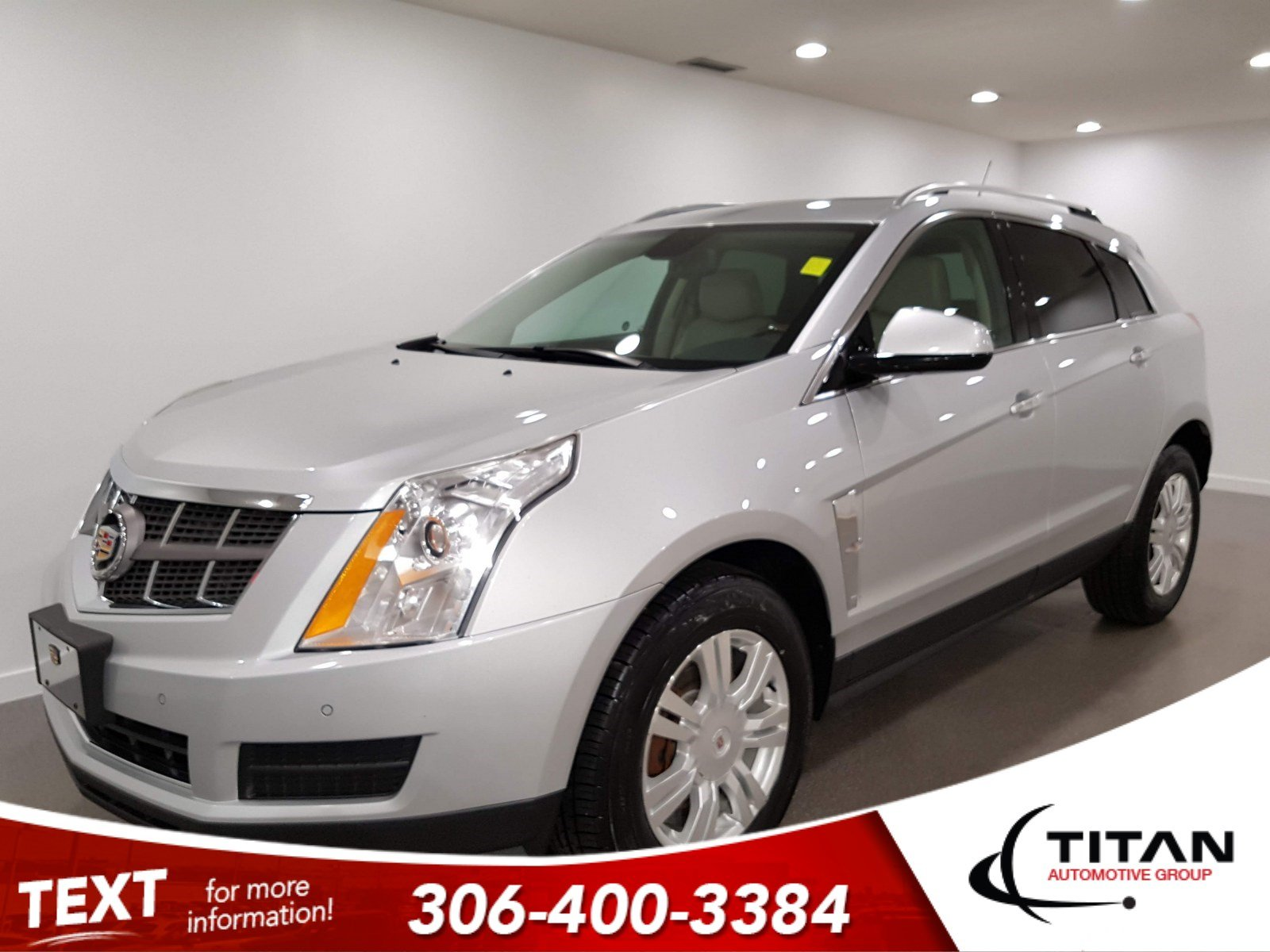 Pre-Owned 2011 Cadillac SRX AWD V6 | Leather | Sunroof | Remote Start