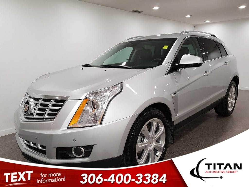Pre-Owned 2016 Cadillac SRX V6 AWD CAM NAV Leather