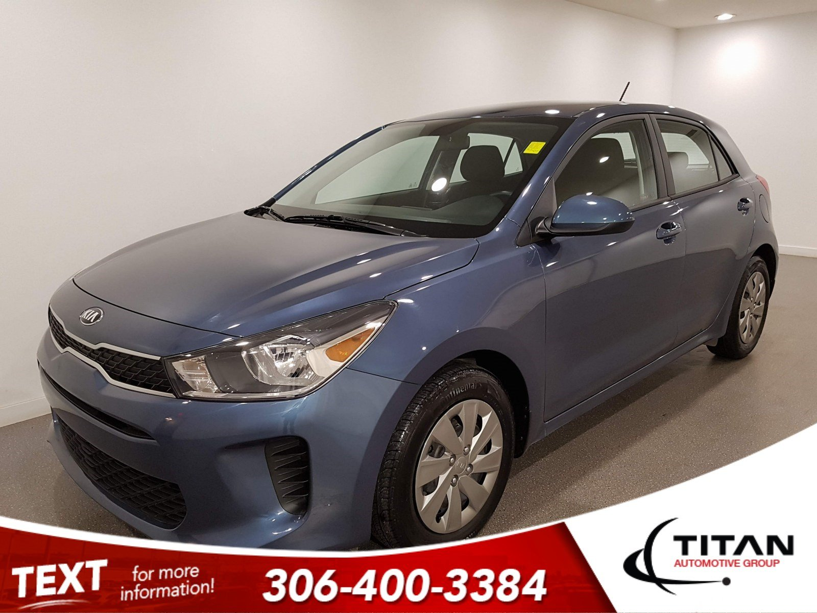 Pre-Owned 2019 Kia Rio 5-door LX|CAM|Htd Seats|Bluetooth