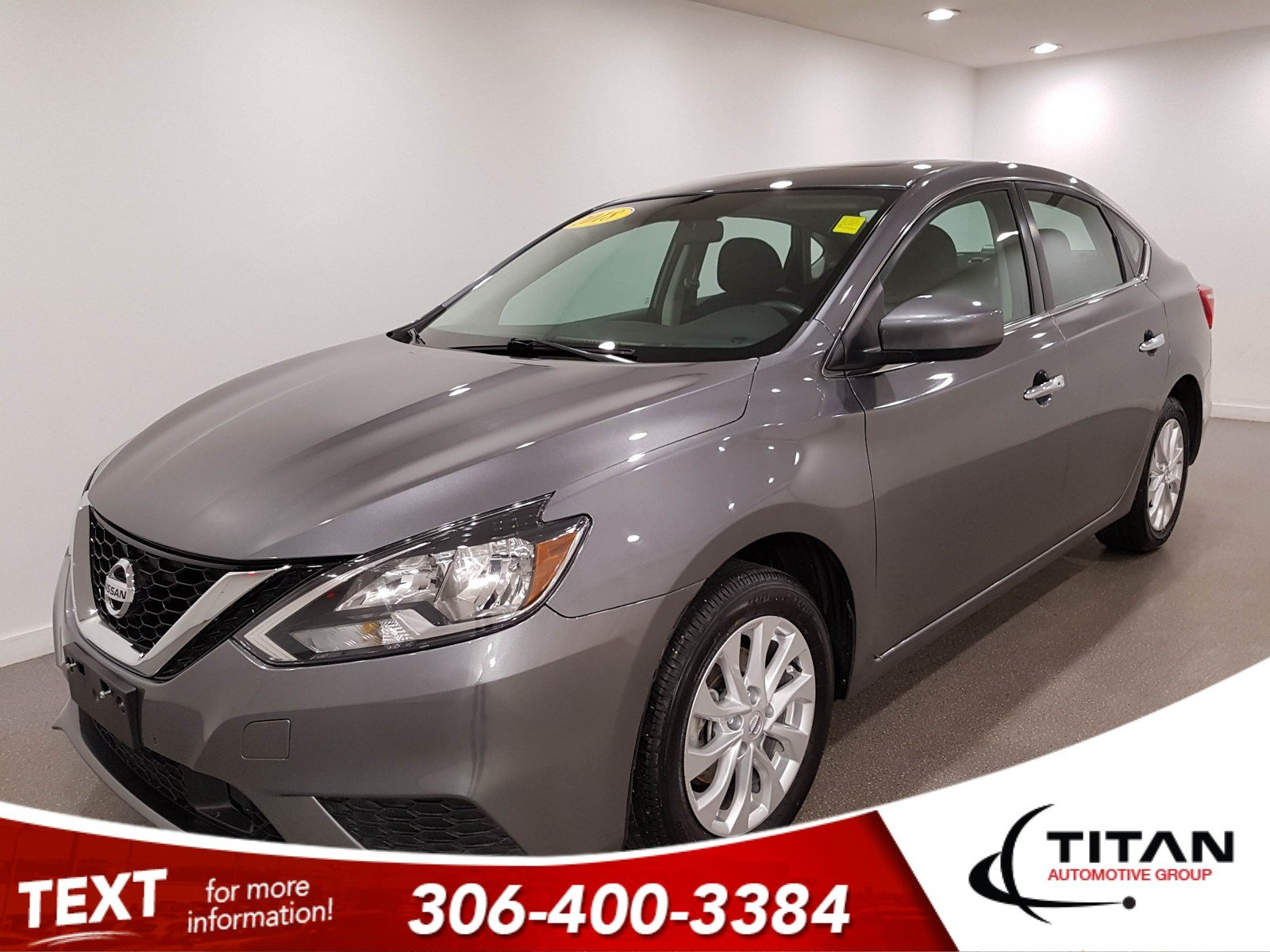 Pre-Owned 2018 Nissan Sentra SV|CAM|Sunroof|Htd Seats|Rims