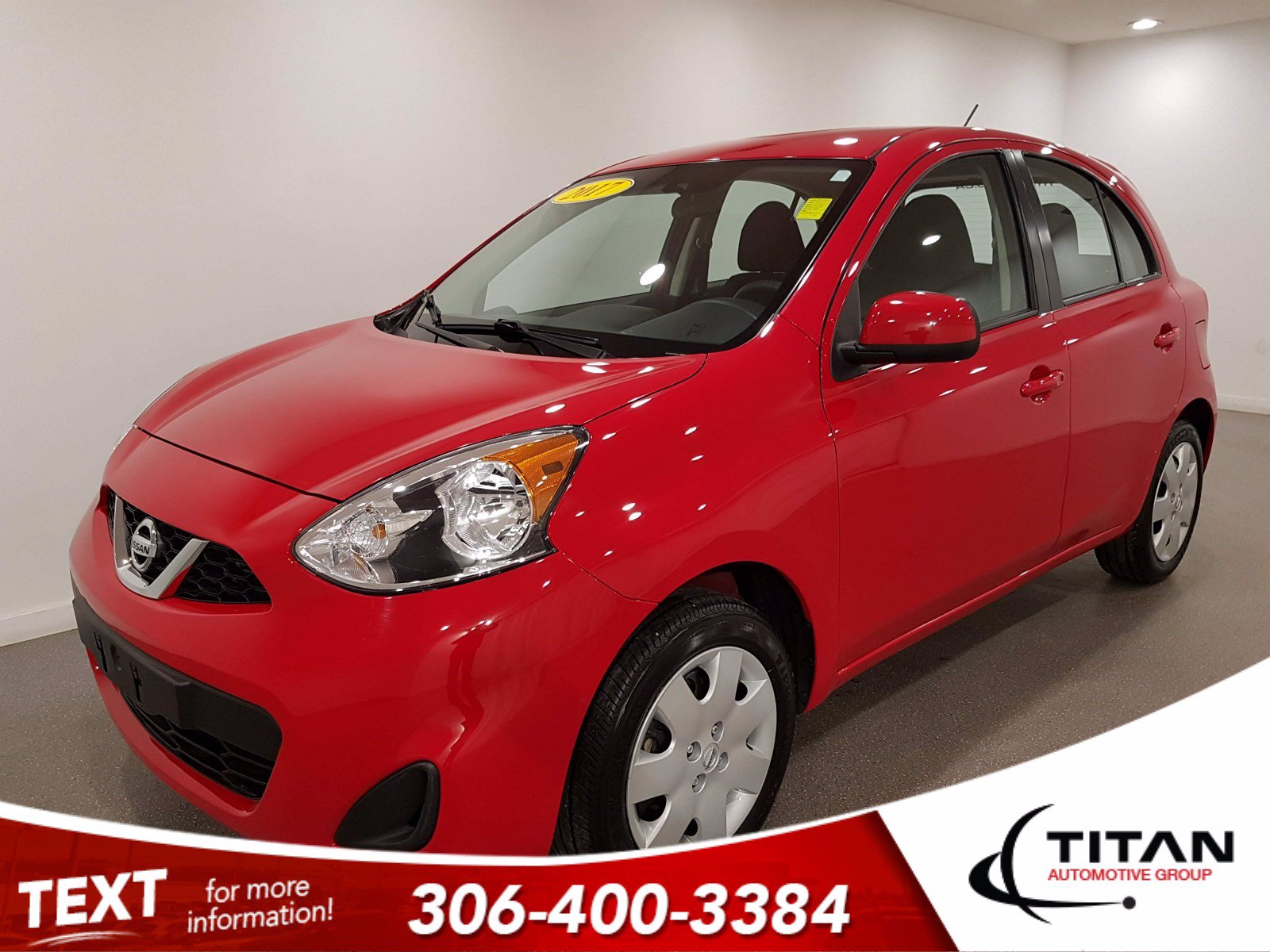 Pre-Owned 2017 Nissan Micra S | Local | Bluetooth | Air | Fully Inspected | Factory Warranty
