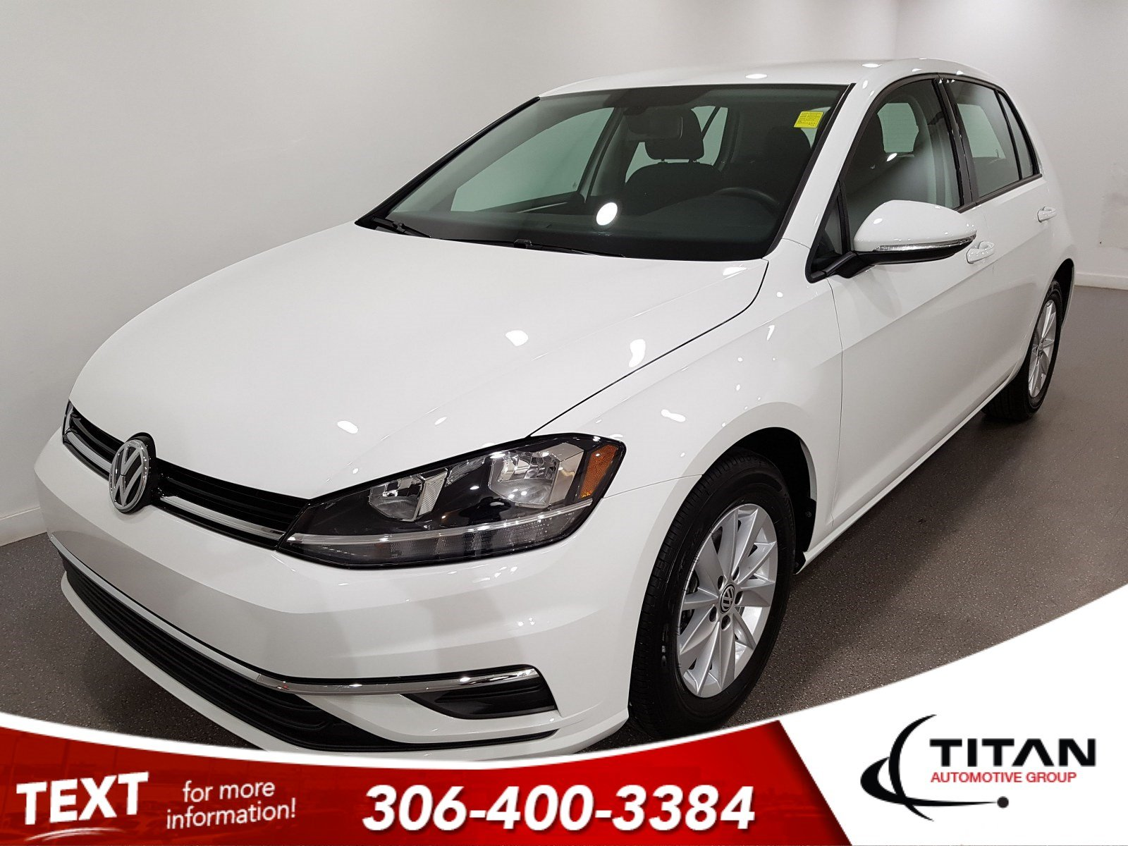 Pre-Owned 2019 Volkswagen Golf Trendline | Heated Seats | Back-up Camera