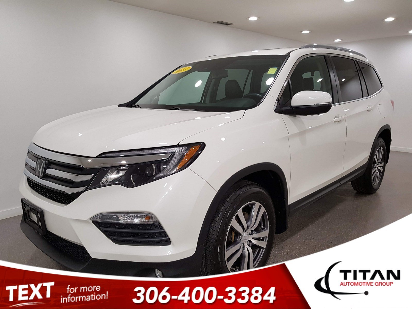Pre-Owned 2017 Honda Pilot EX-LN AWD | Leather | Sunroof | Navigation