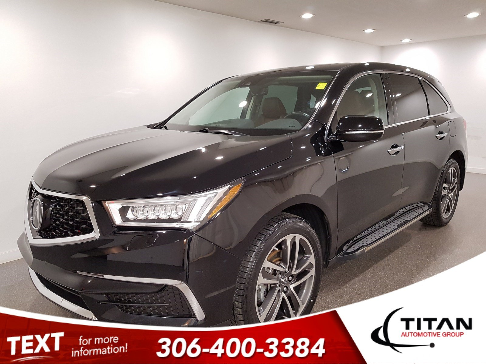 Pre-Owned 2017 Acura MDX AWD|CAM|NAV|Alloys|Leather