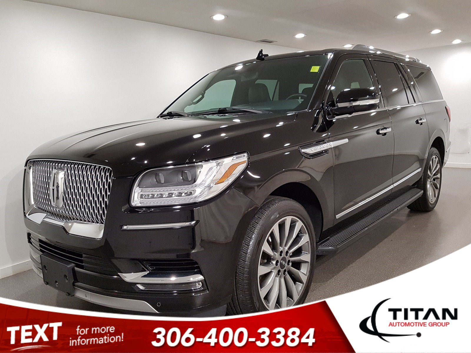Pre-Owned 2018 Lincoln Navigator L Select 4x4 V6 CAM NAV Leather Alloys Sunroof