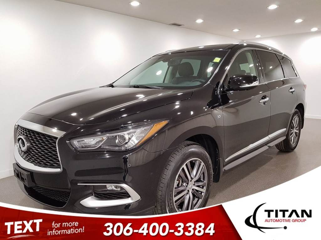 Pre-Owned 2016 INFINITI QX60 7 Pass V6 AWD CAM NAV Leather Htd Seats