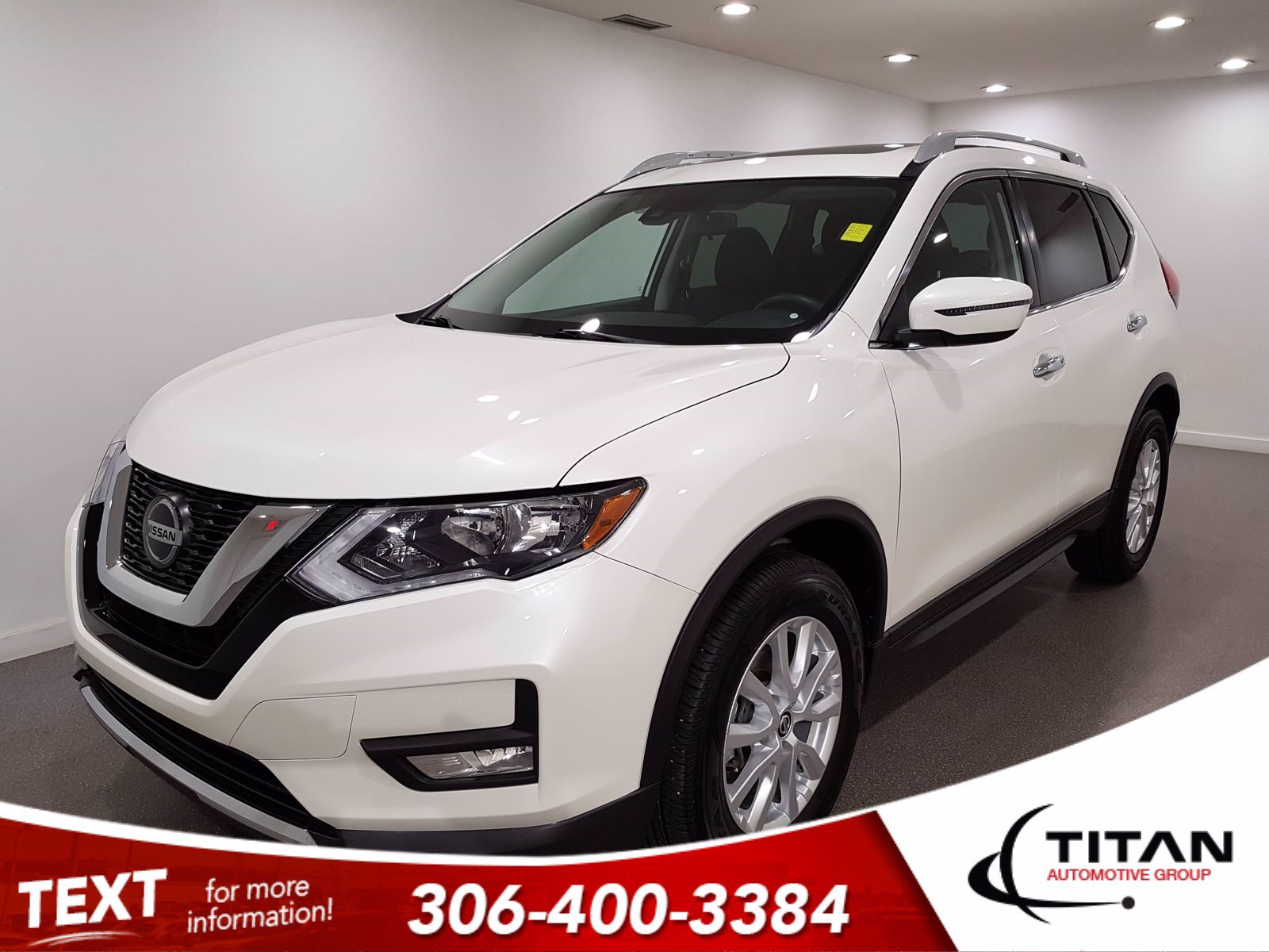 Pre-Owned 2019 Nissan Rogue SV | AWD | Heated Seats | Pano Sunroof | Cam | Bluetooth | Adaptive Cruise | Blind Spot Monitors