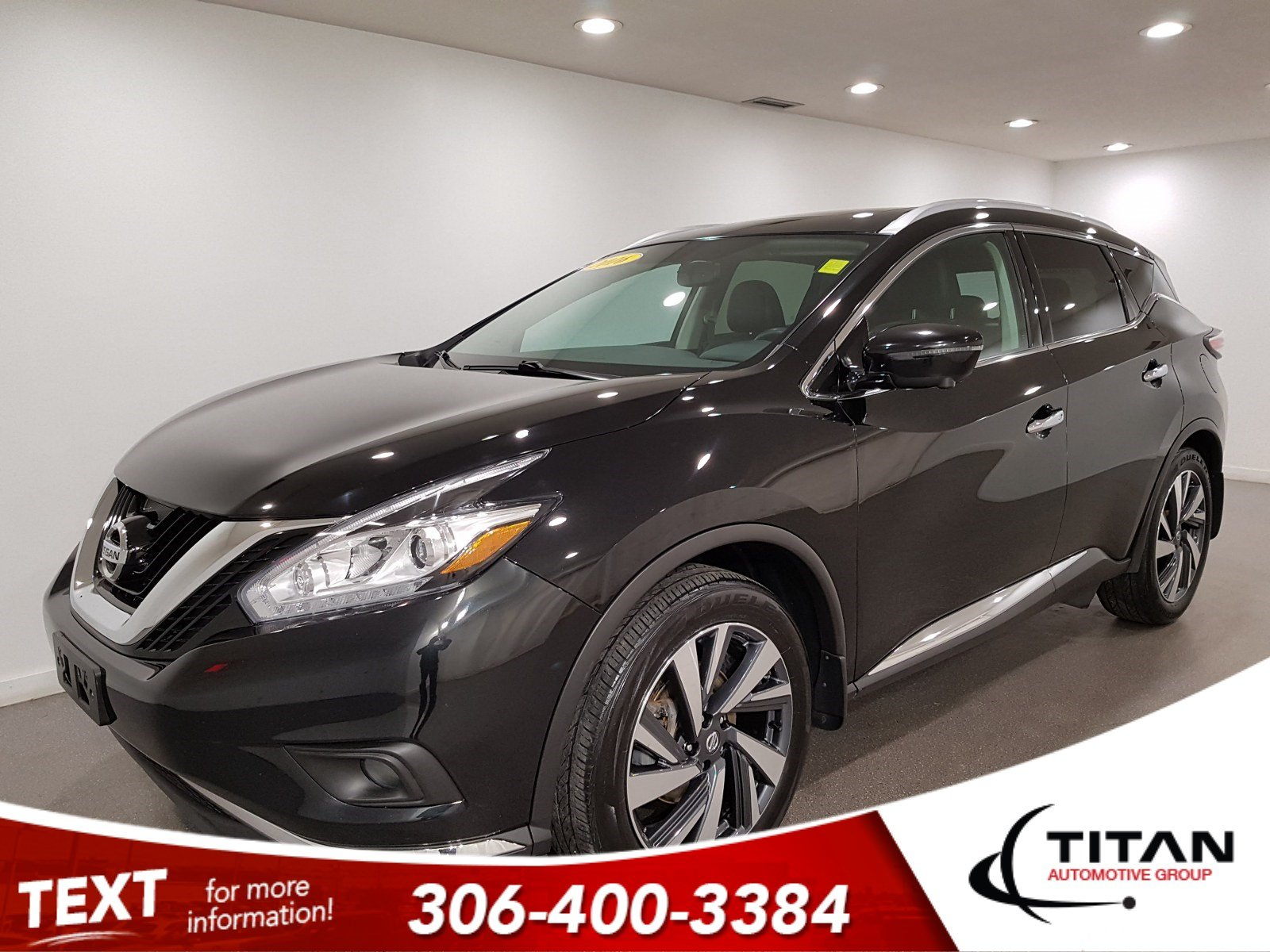 Pre-Owned 2016 Nissan Murano Platinum AWD V6 | Leather | Sunroof | Navigation