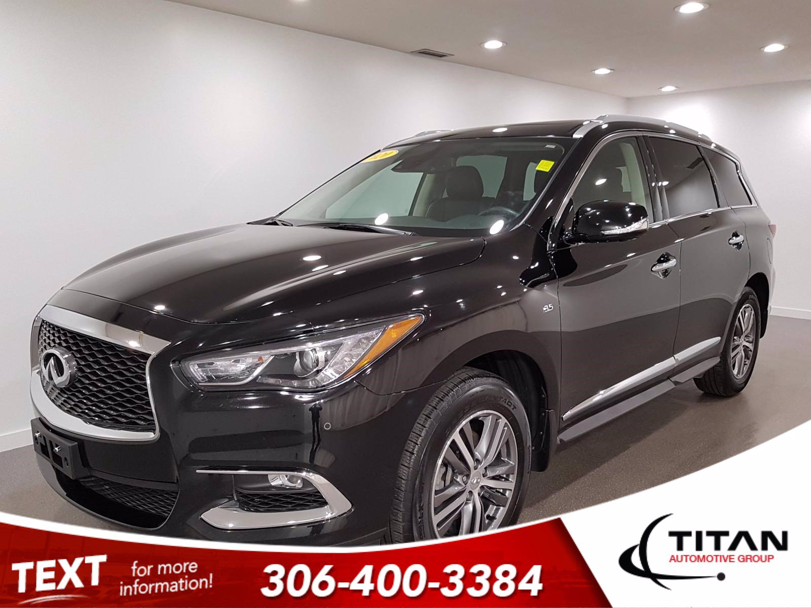Pre-Owned 2020 INFINITI QX60 Essential | AWD | Leather | NAV | V6 | 7Pass