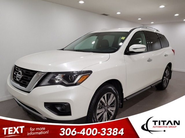 Pre-Owned 2018 Nissan Pathfinder SV Tech SV Local V6 4x4 CAM NAV 7 Pass