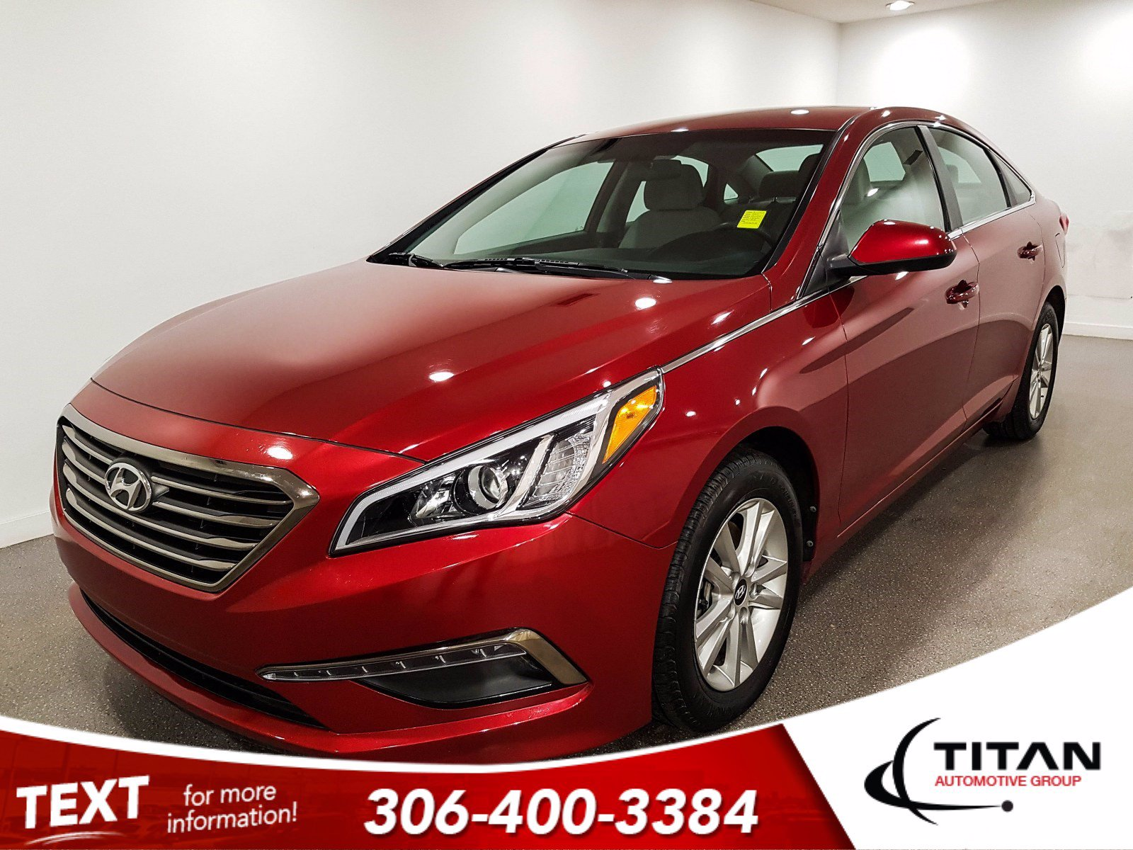 Pre-Owned 2015 Hyundai Sonata GL | Heated Seats | Bluetooth | Back-up Camera | Rims | Spoiler | Fully Inspected