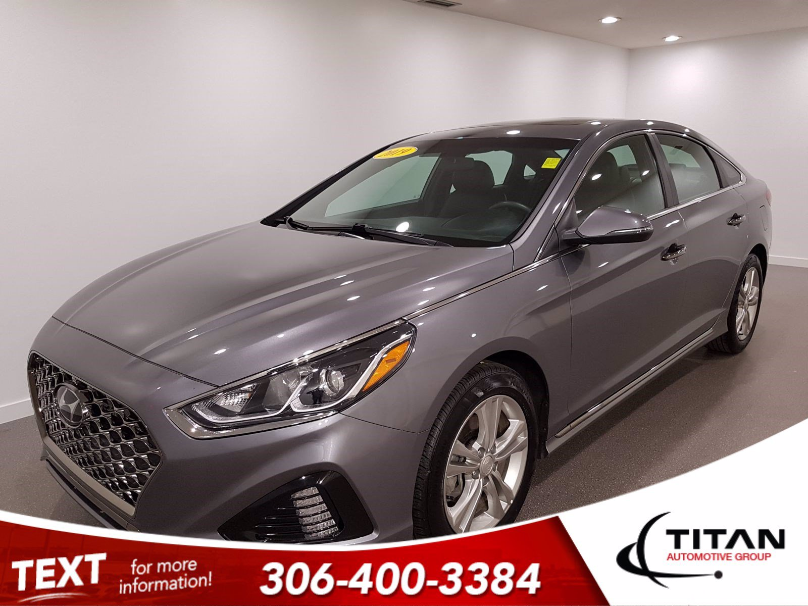 Pre-Owned 2019 Hyundai Sonata Sport | Auto | Android Auto/Apple Carplay | CAM | Rims | Htd Seats