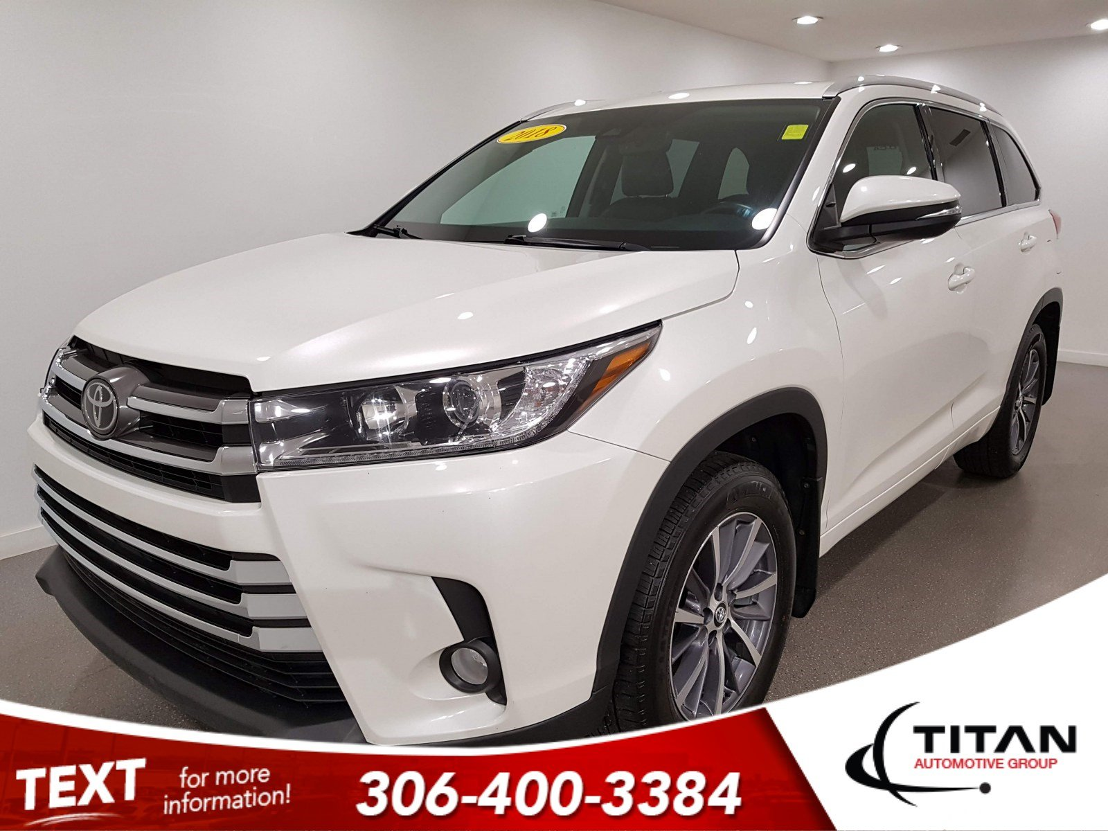 Pre-Owned 2018 Toyota Highlander XLE AWD V6 | Leather | Navigation