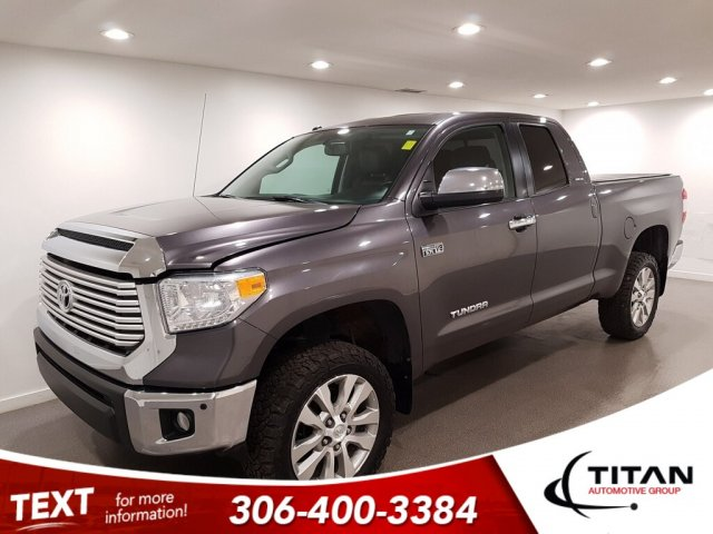 Pre-Owned 2014 Toyota Tundra Limited Local V8 4x4 CAM Leather Alloys