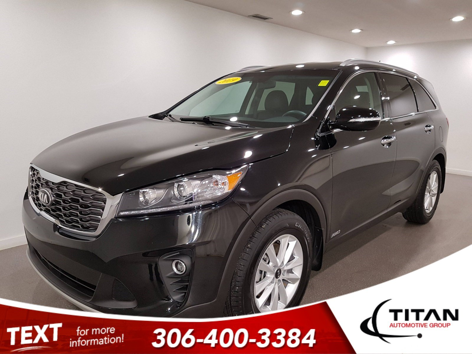 Pre-Owned 2019 Kia Sorento EX AWD | Leather | Back-up Camera