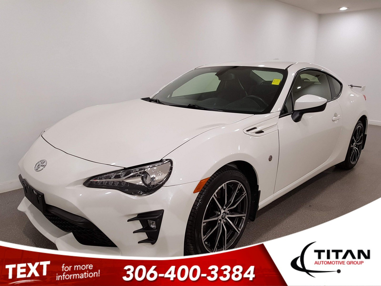 Pre-Owned 2019 Toyota 86 6 spd|CAM|Htd Seats|Rims