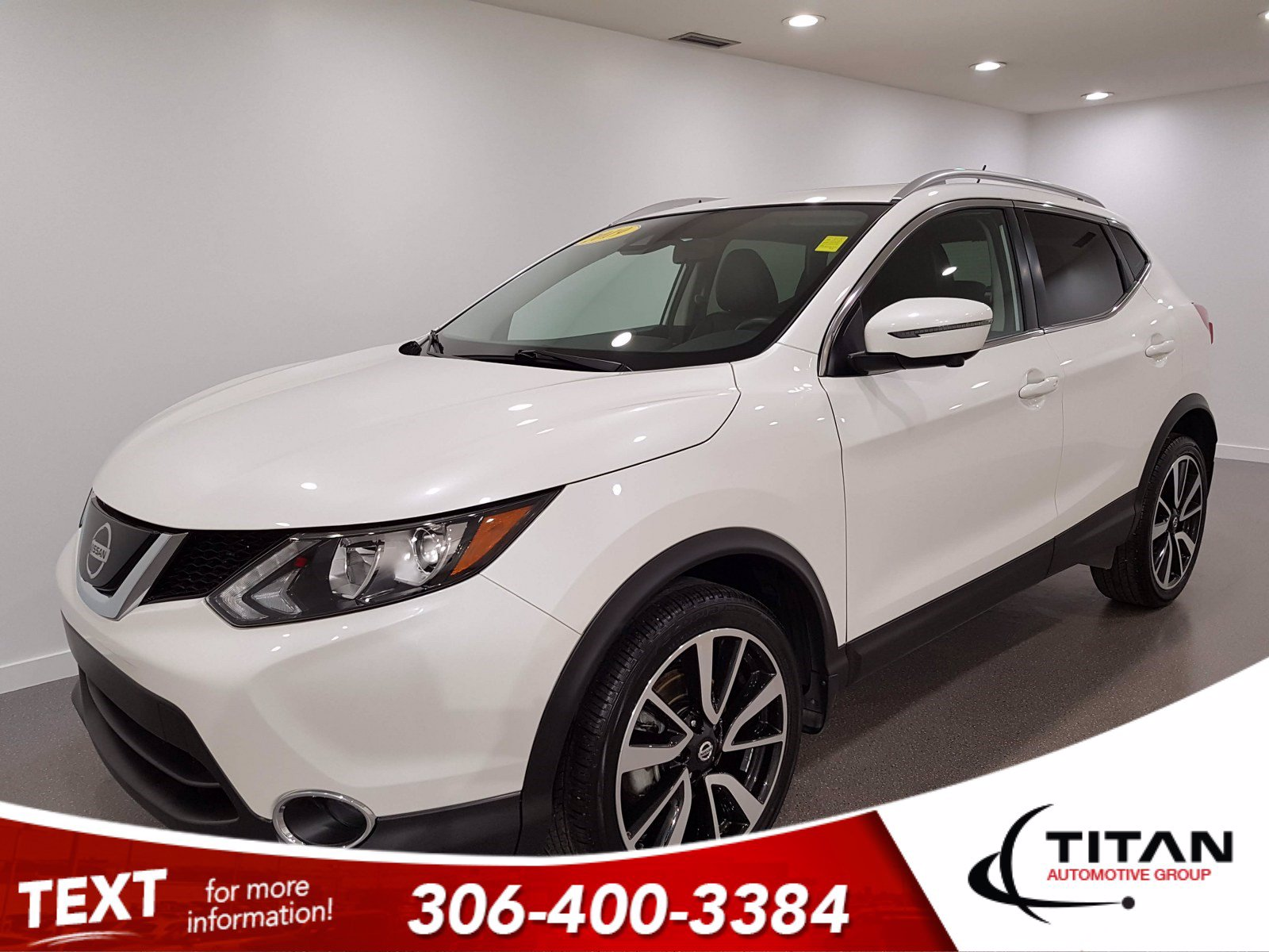 Pre-Owned 2019 Nissan Qashqai SL | AWD | CAM | NAV | Leather | Rims
