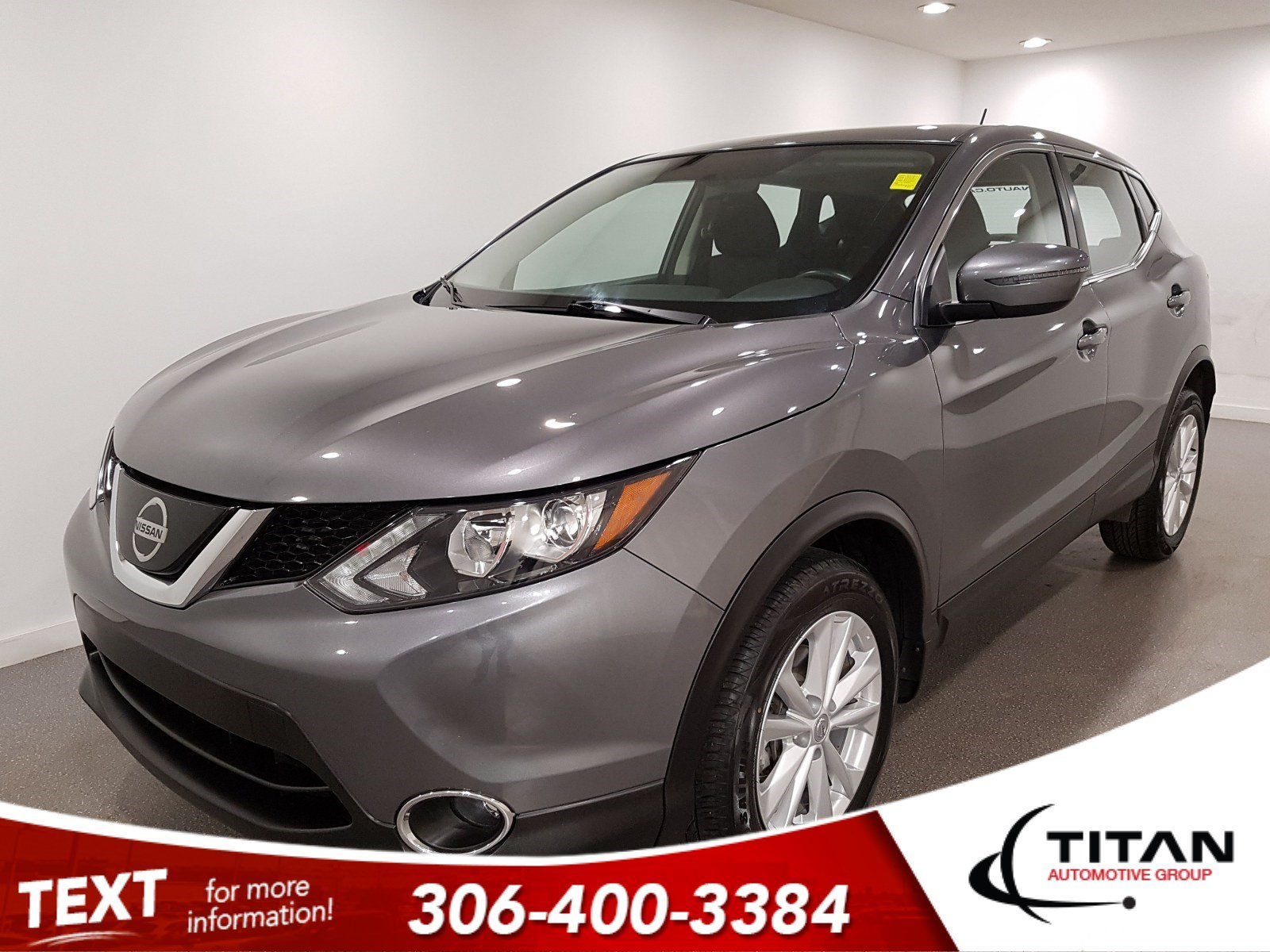 Pre-Owned 2018 Nissan Qashqai SV|AWD|CAM|Sunroof|Alloys