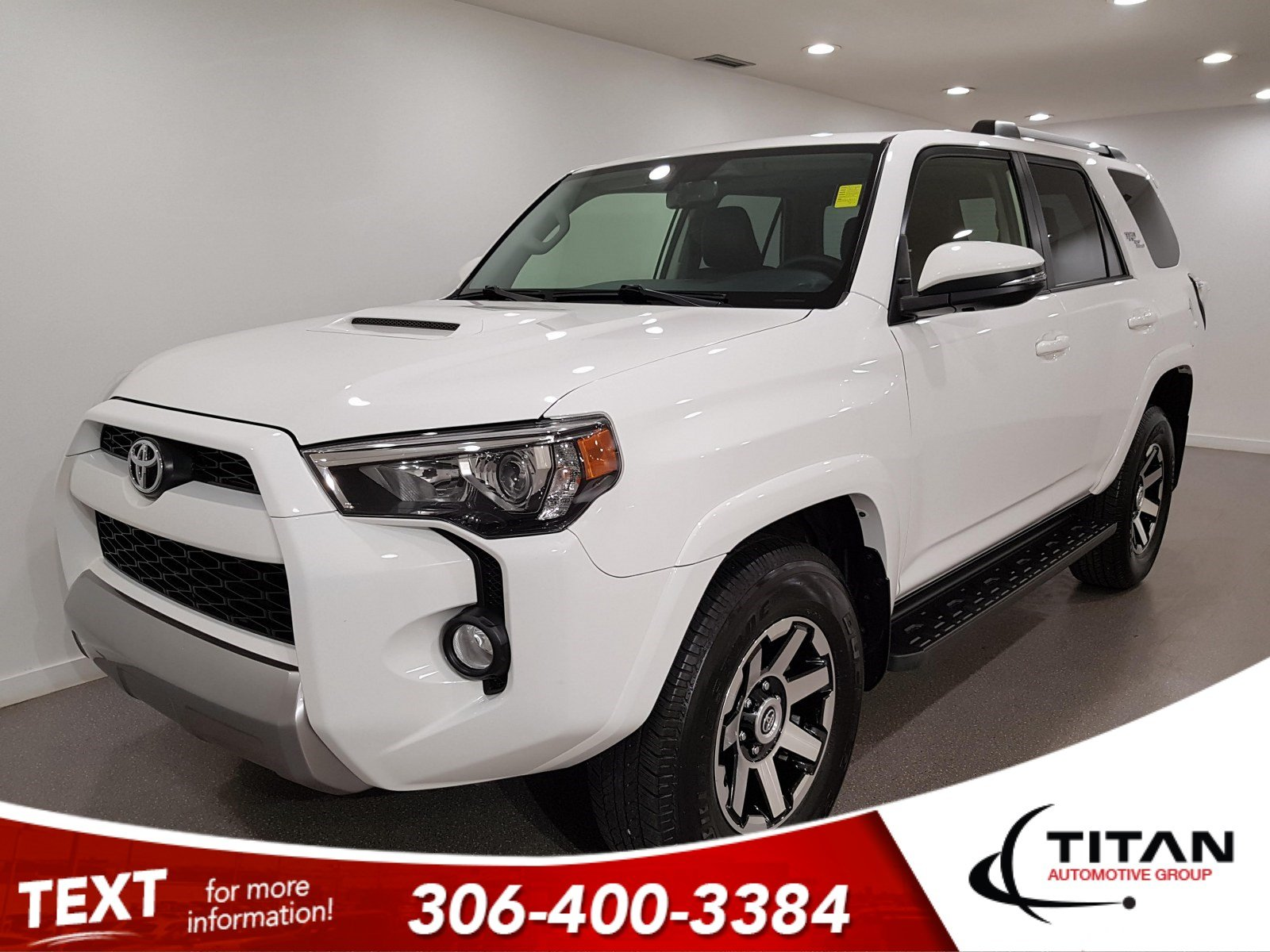 Pre-Owned 2018 Toyota 4Runner TRD Off-Road|Premium Htd Leather|4x4|CAM|Bluetooth|Rims|NAV|V6