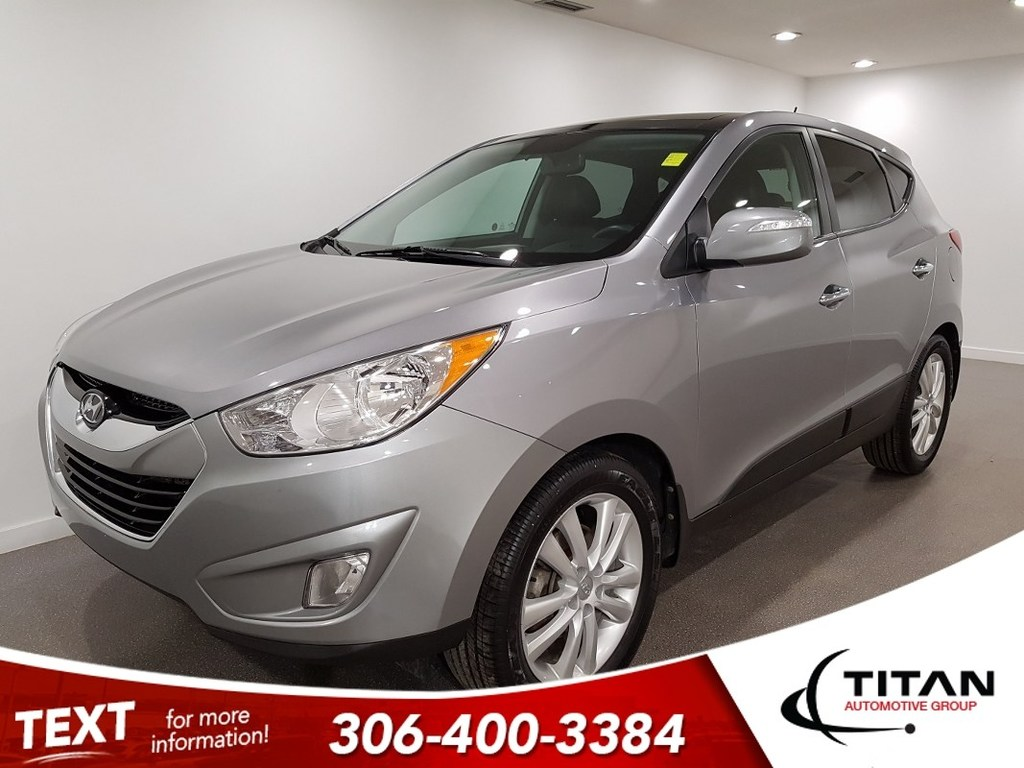 Pre-Owned 2013 Hyundai Tucson Limited AWD CAM Leather NAV Htd Seats