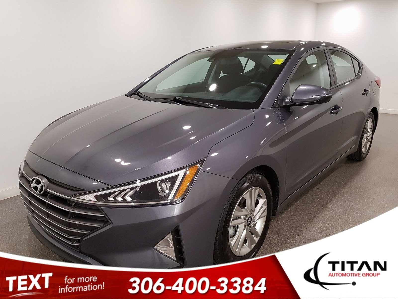 Pre-Owned 2019 Hyundai Elantra Preferred|CAM|Alloys|Htd Seats|Sunroof|Bluetooth