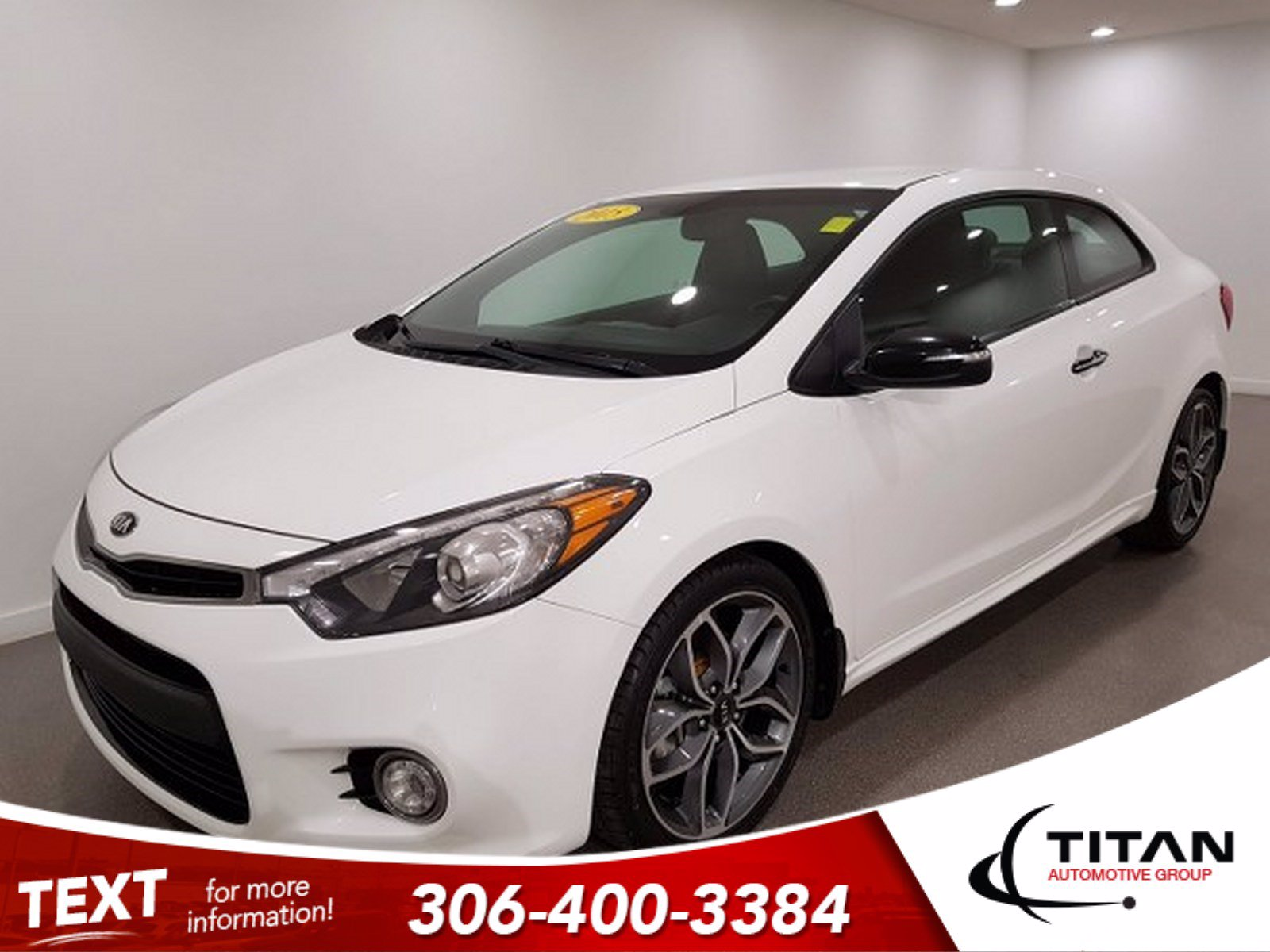 Pre-Owned 2015 Kia Forte Koup | Heated Seats | Back-up Camera