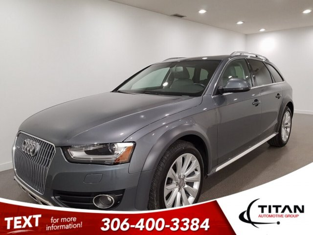 Pre-Owned 2016 Audi A4 allroad Quattro Htd Leather Wagon
