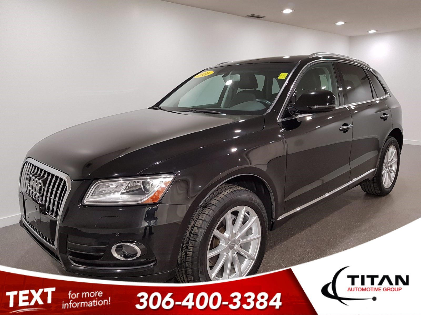 Pre-Owned 2016 Audi Q5 Technik 2.0L Turbo| Quattro AWD | Heated Leather | Sunroof | Navigation | Bluetooth | Rims