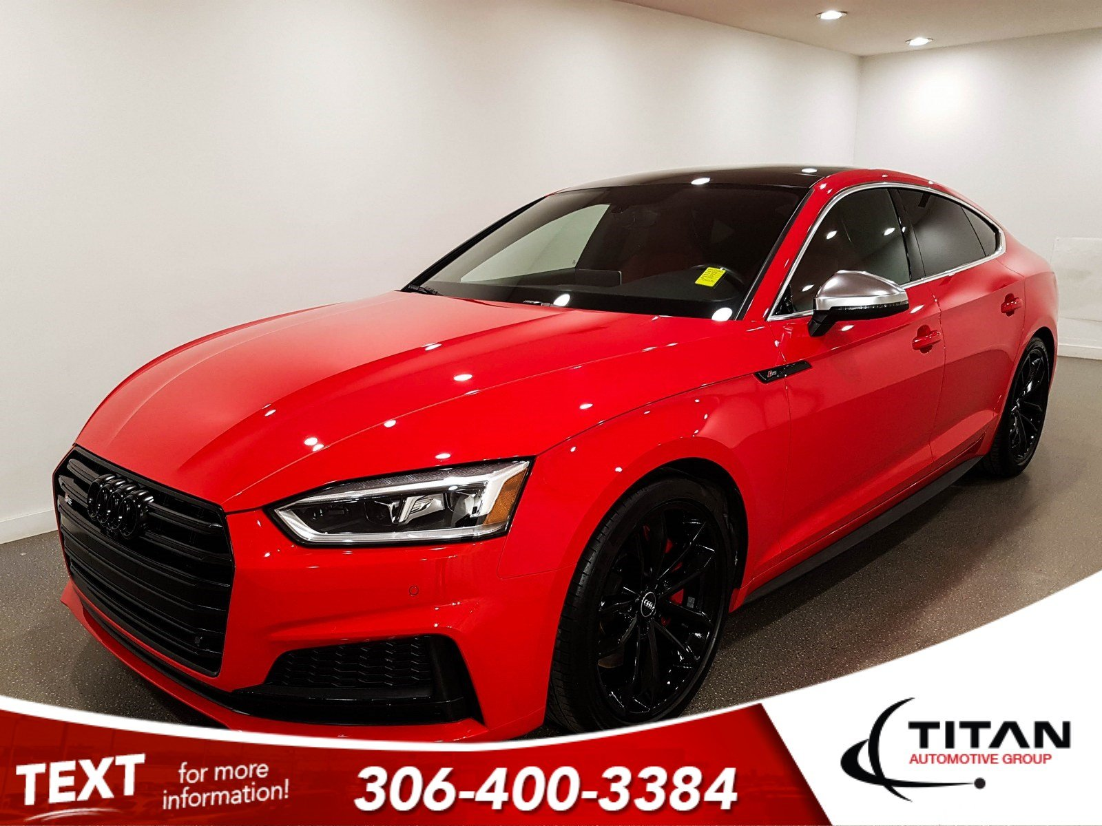 Pre-Owned 2018 Audi S5 Sportback 3.0L Turbo AWD | Massage Leather | Sunroof | Navigation
