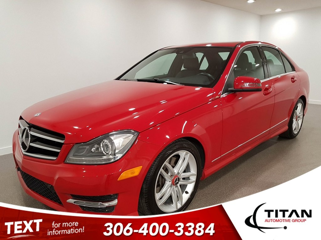 Pre Owned 2014 Mercedes Benz C Class C300 4MATIC AWD CAM V6 Leather