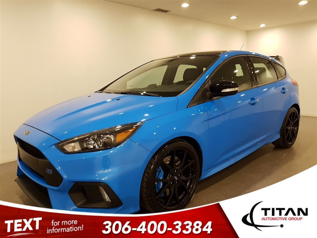 Pre Owned 2018 Ford Focus Local Rs Cam Awd Only 475 Kms Nav 2012 Antenna Bluetooth