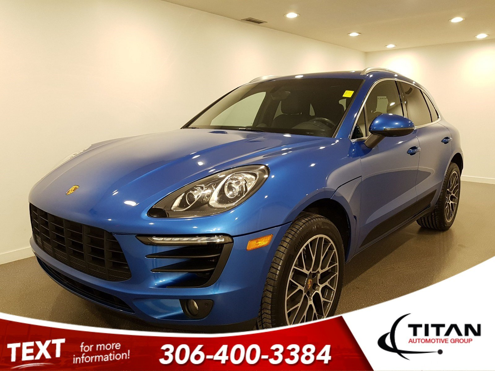 Pre-Owned 2016 Porsche Macan S AWD V6 | Leather
