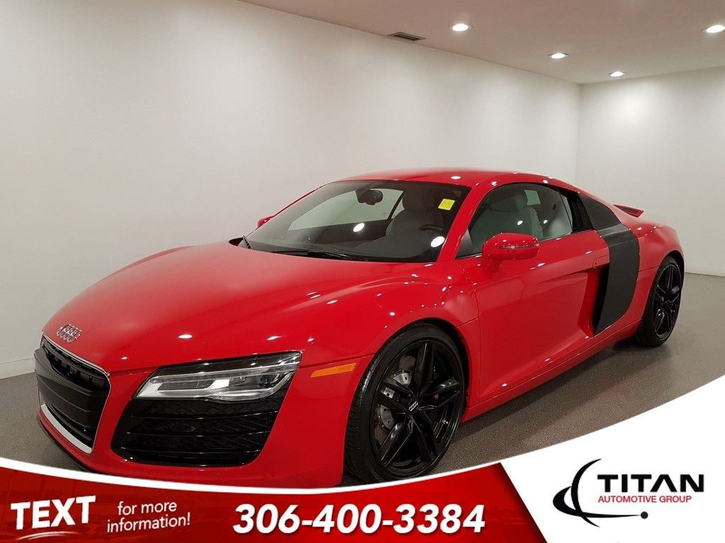 Pre-Owned 2014 Audi R8 4.2 V8 AWD CAM Leather NAV