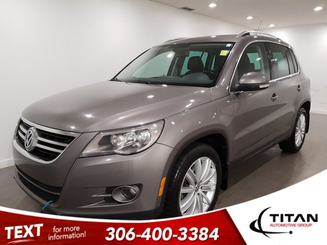 Pre-Owned 2009 Volkswagen Tiguan SE Local CAM NAV Alloys