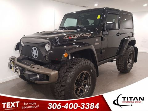 Pre-Owned 2016 Jeep Wrangler 75th Anniversary 37 Tires Winch Bluetooth Lift Nav