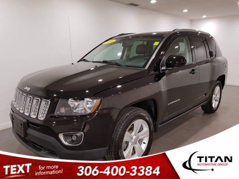 Pre-Owned 2016 Jeep Compass High Altitude 4x4 | Leather | Sunroof | Remote Start
