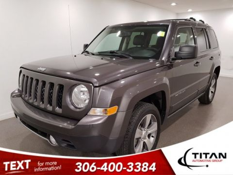 Pre-Owned 2017 Jeep Patriot High Altitude Edition|4x4|Leather|Alloys|Sunroof