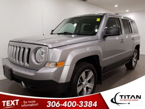 Pre-Owned 2016 Jeep Patriot High Altitude 4x4 Leather Sunroof