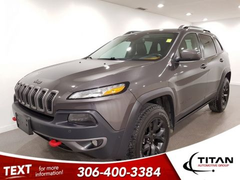 Pre-Owned 2015 Jeep Cherokee Trailhawk V6 4x4 Leather CAM NAV