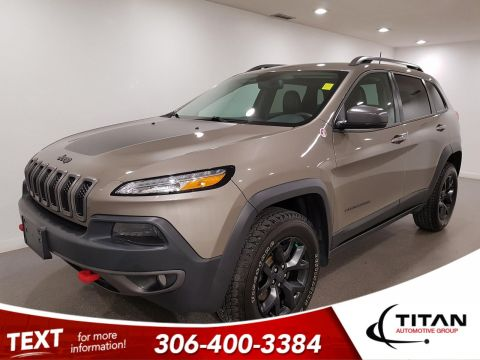 Pre-Owned 2016 Jeep Cherokee Trailhawk 4x4 V6 | Leather | Navigation | Remote Start
