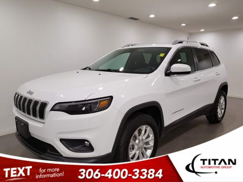 Pre-Owned 2019 Jeep Cherokee North|4x4|CAM|Rims|Bluetooth