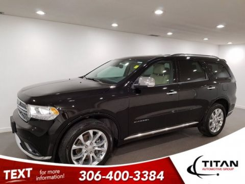 Pre-Owned 2018 Dodge Durango Citadel AWD CAM NAV Leather