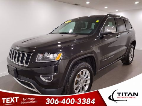Pre-Owned 2016 Jeep Grand Cherokee Limited | 4x4 | Heated Seats/Steering Wheel | Sunroof | Back Up Camera | Remote Starter | Local