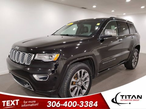 Pre-Owned 2017 Jeep Grand Cherokee Overland V6 | Leather | Sunroof | Navigation